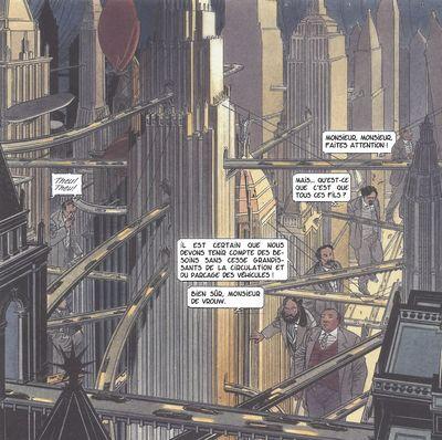 L 39 imaginaire des grandes cit s le devenir des m tropoles constructif - Les portes du penitencier original ...